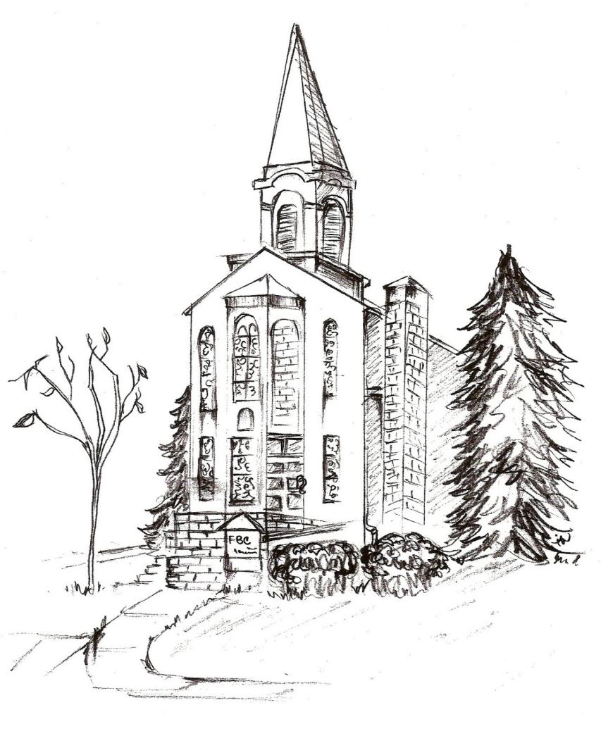 FBC Sketch for Bulletin